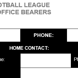 Club Office Bearers
