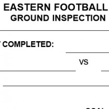 Ground Inspection Form