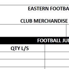 club merch order form